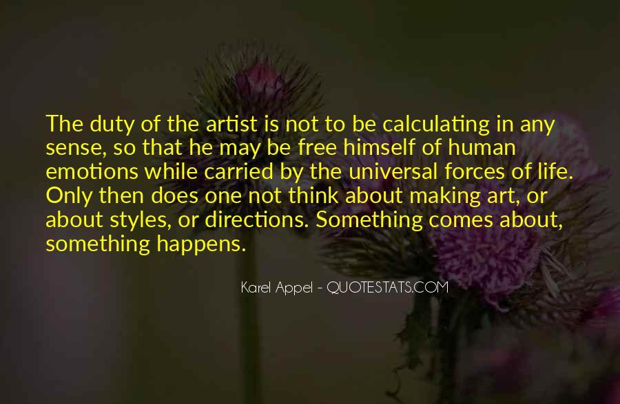 Life Making Sense Quotes #1206597