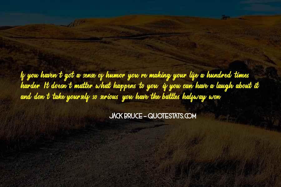 Life Making Sense Quotes #1429059