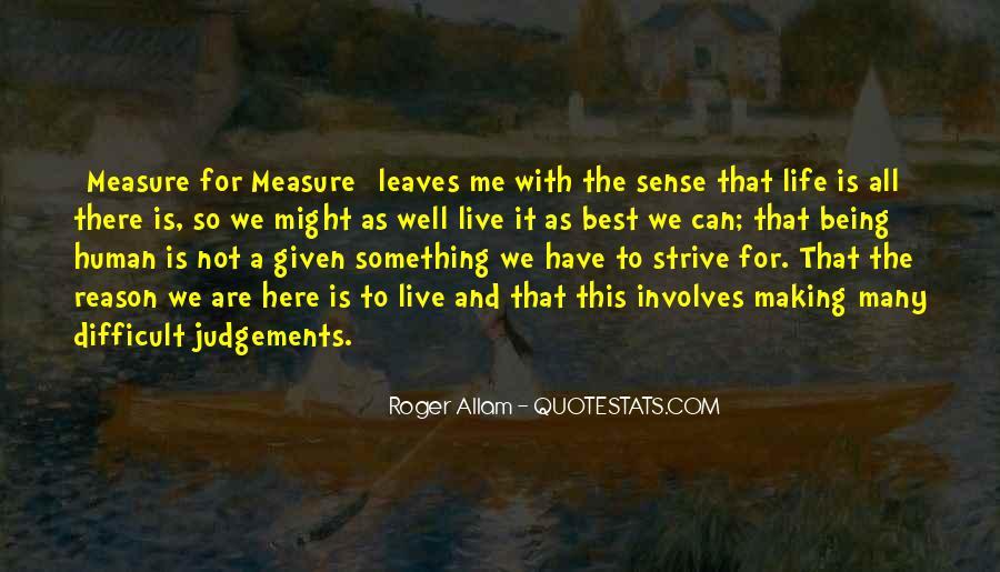 Life Making Sense Quotes #850993