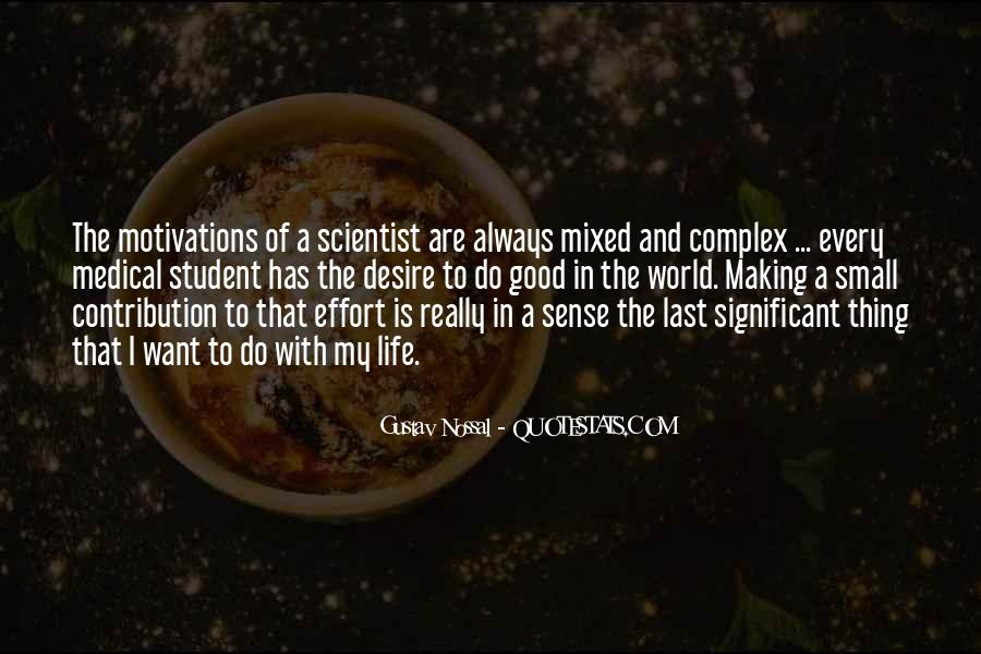 Life Making Sense Quotes #861688