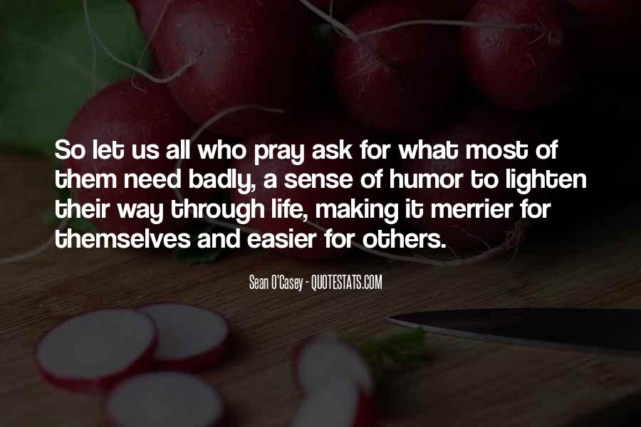 Life Making Sense Quotes #883822