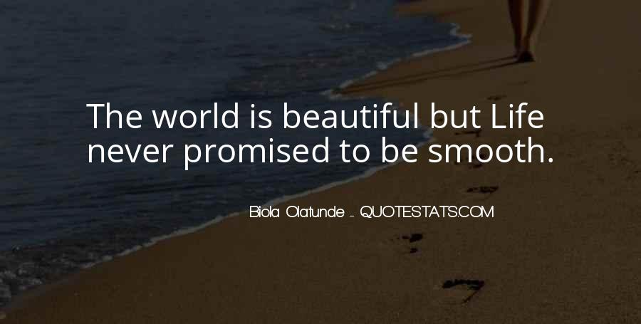 Life Never Promised Quotes #1058944