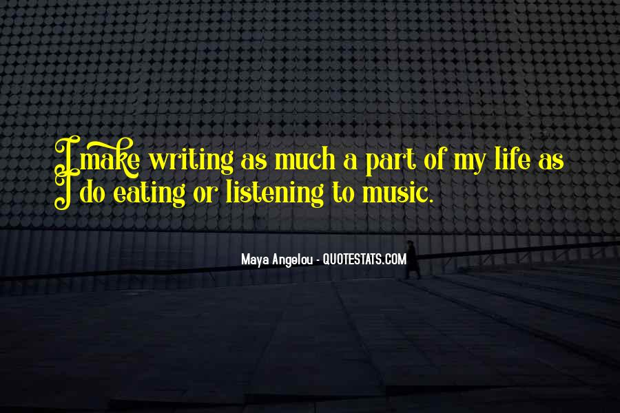 Life Of Music Quotes #124583