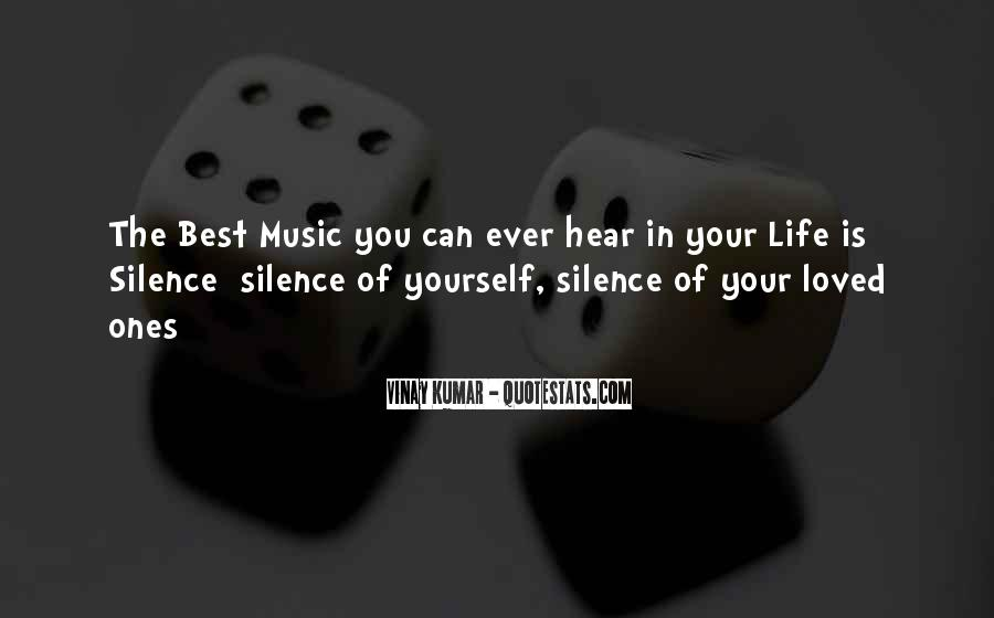Life Of Music Quotes #130194