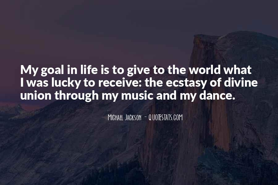 Life Of Music Quotes #130732