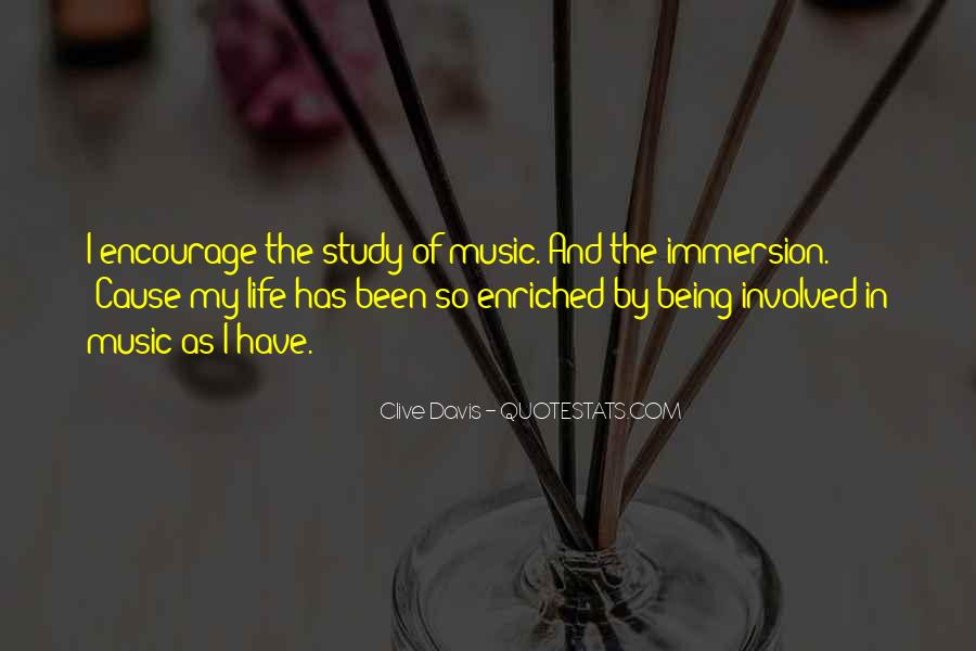 Life Of Music Quotes #146809