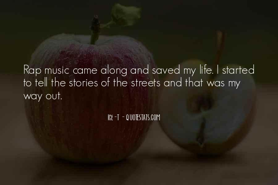 Life Of Music Quotes #177558
