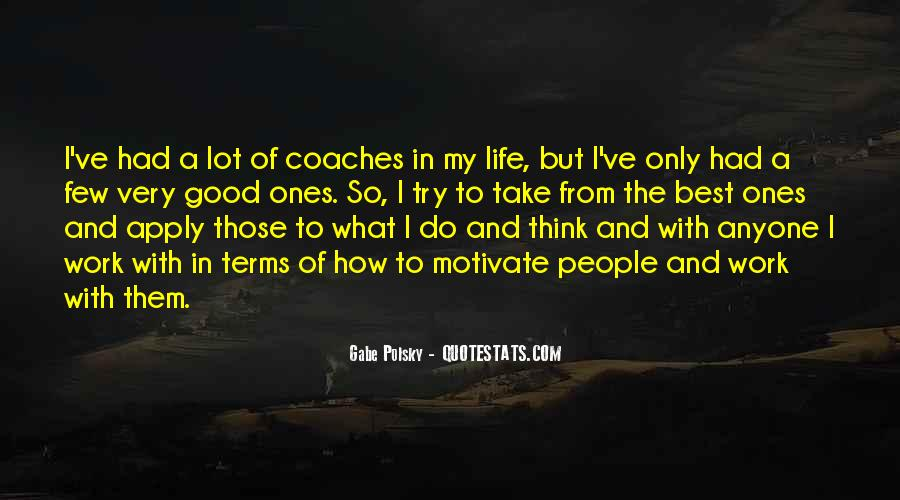 Life On My Own Terms Quotes #109123