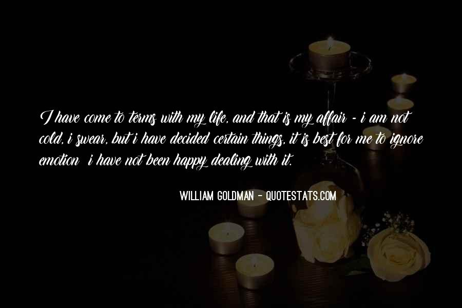 Life On My Own Terms Quotes #135416