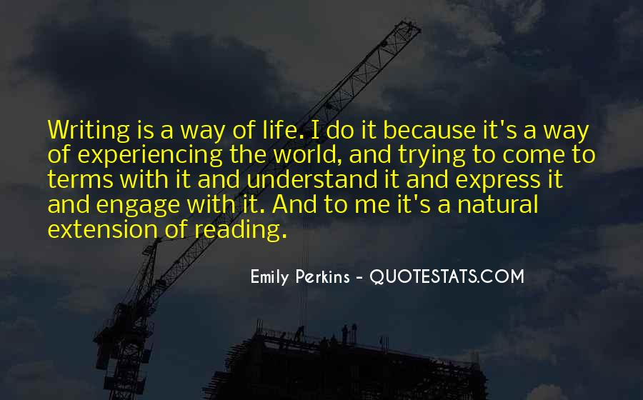 Life On My Own Terms Quotes #136199