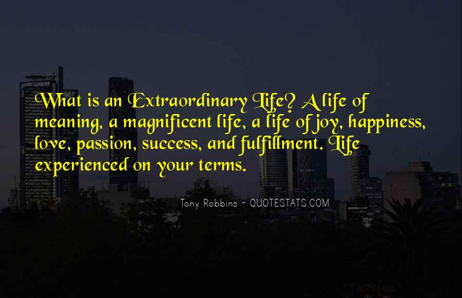 Life On My Own Terms Quotes #312291