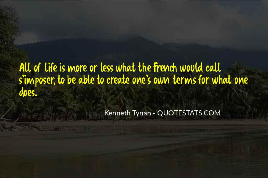 Life On My Own Terms Quotes #430831