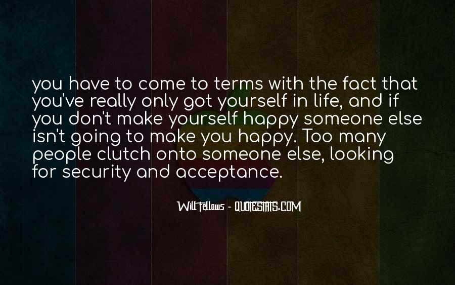 Life On My Own Terms Quotes #87666