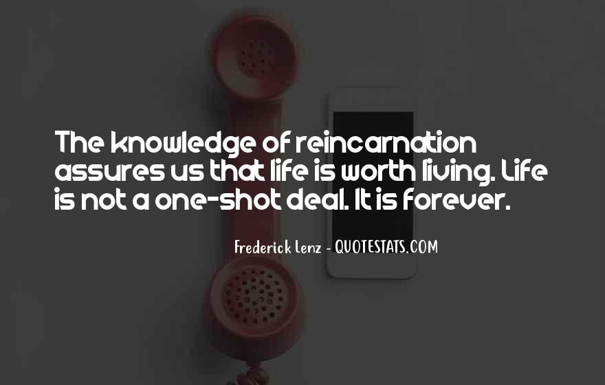Life One Shot Quotes #1372307