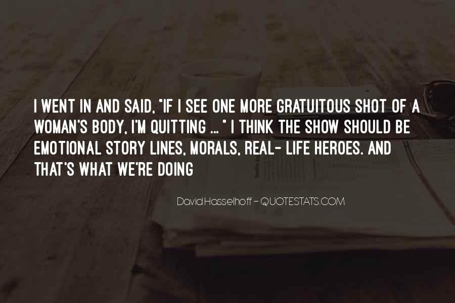 Life One Shot Quotes #191657