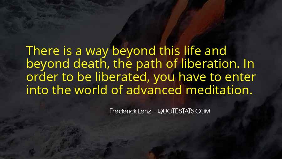 Life Path Way Quotes #1057316