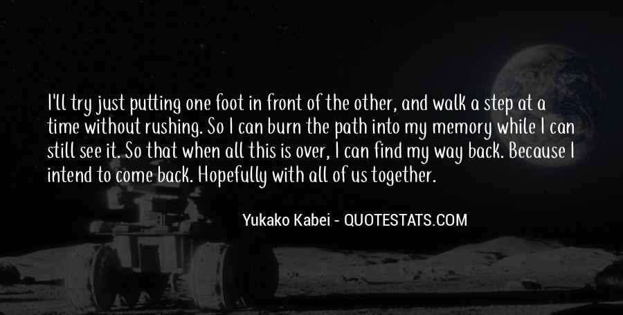 Life Path Way Quotes #1289595