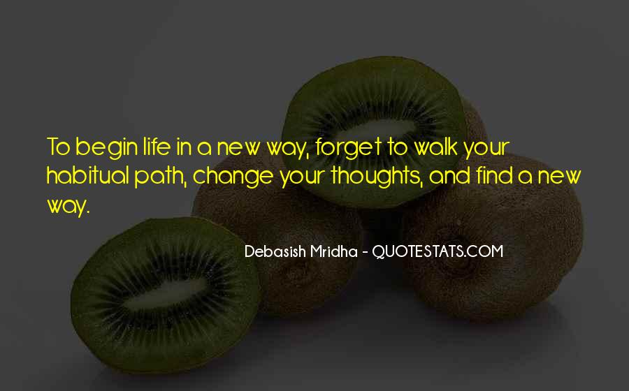 Life Path Way Quotes #1398366