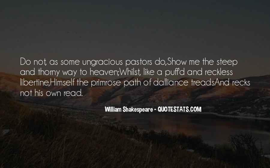 Life Path Way Quotes #349477