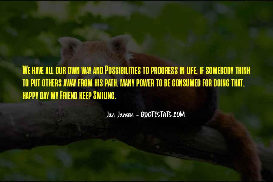 Life Path Way Quotes #36338