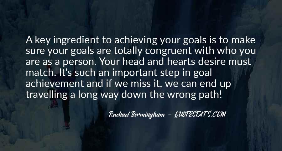 Life Path Way Quotes #405371