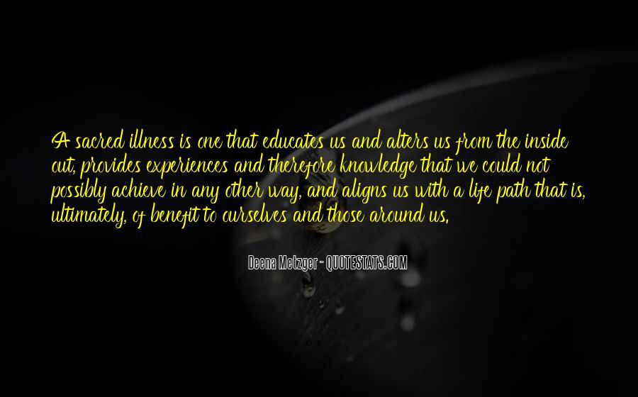 Life Path Way Quotes #435538