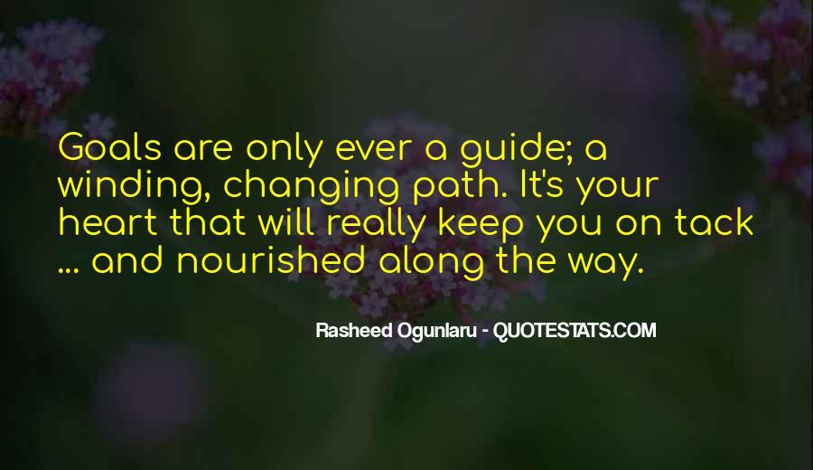 Life Path Way Quotes #436980
