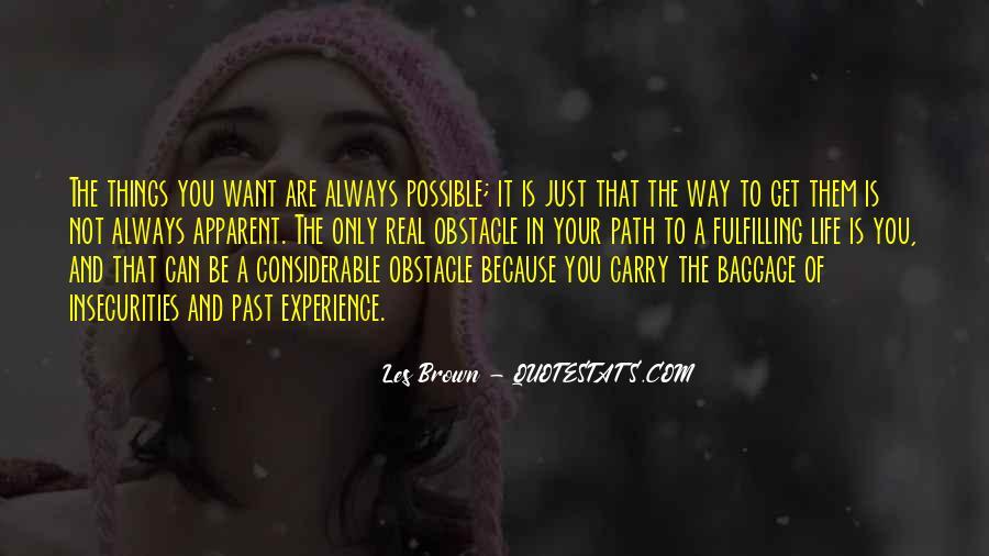 Life Path Way Quotes #447584