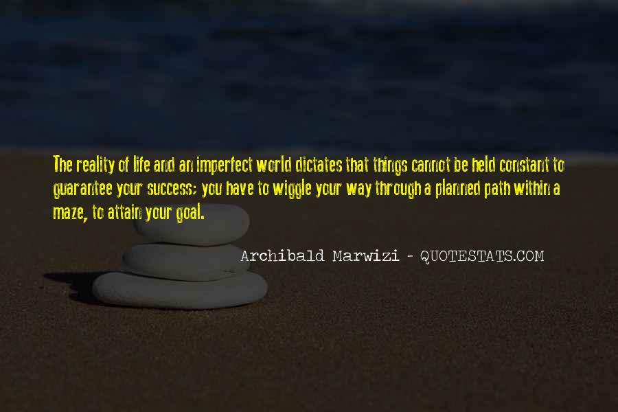 Life Path Way Quotes #505280