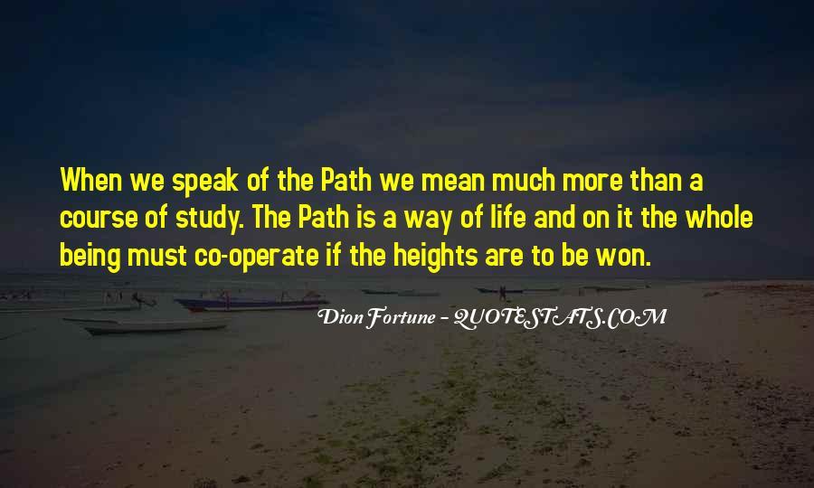 Life Path Way Quotes #703754