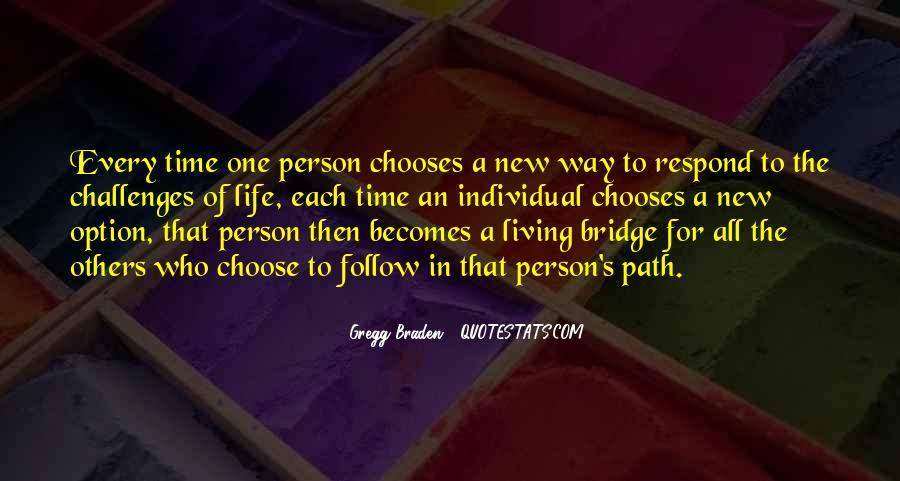 Life Path Way Quotes #752062
