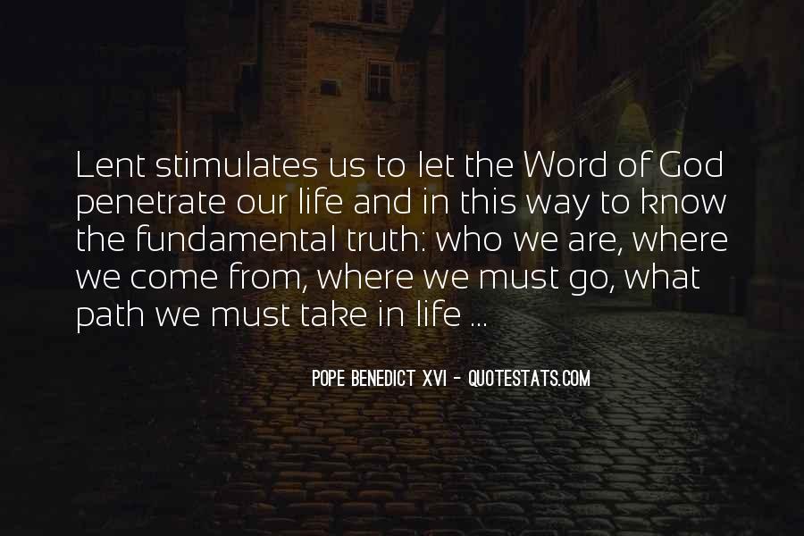 Life Path Way Quotes #77019