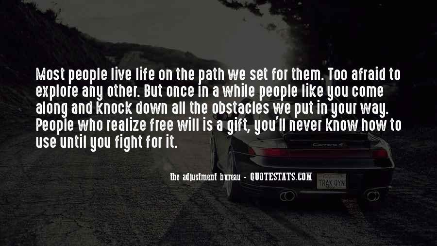 Life Path Way Quotes #810725