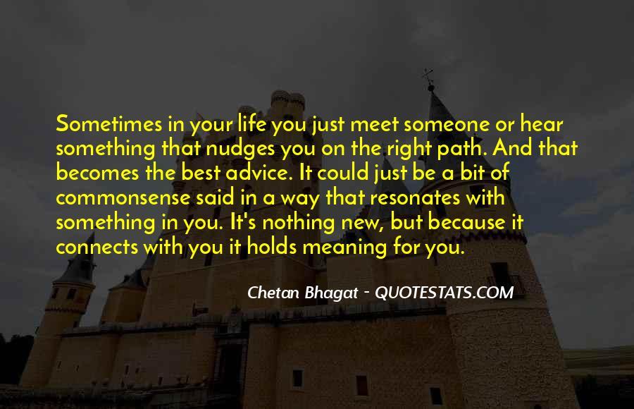 Life Path Way Quotes #811862