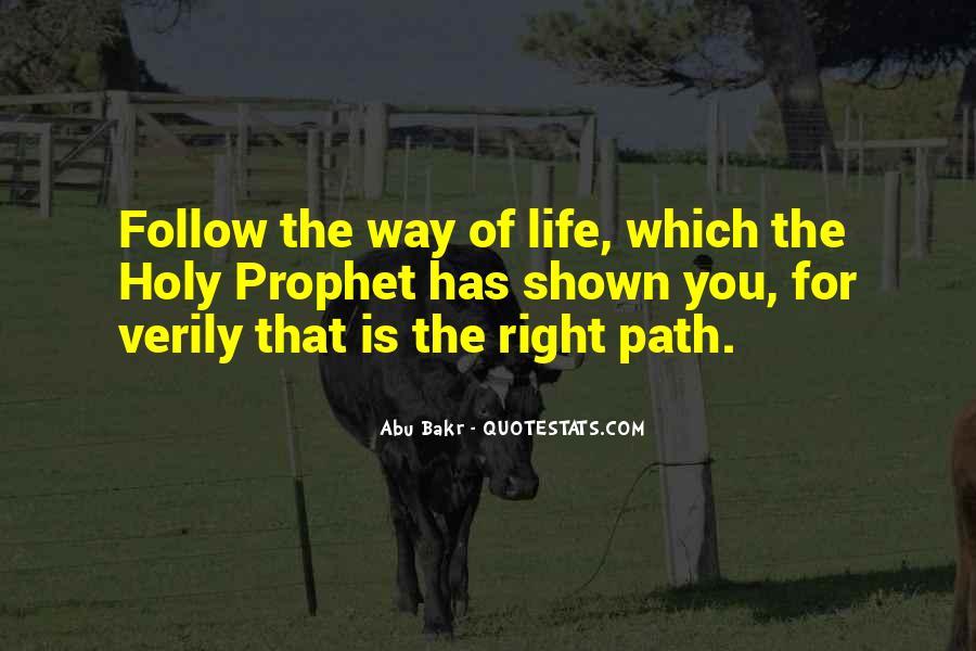 Life Path Way Quotes #919186