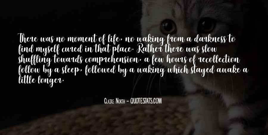 Life Recollection Quotes #724320