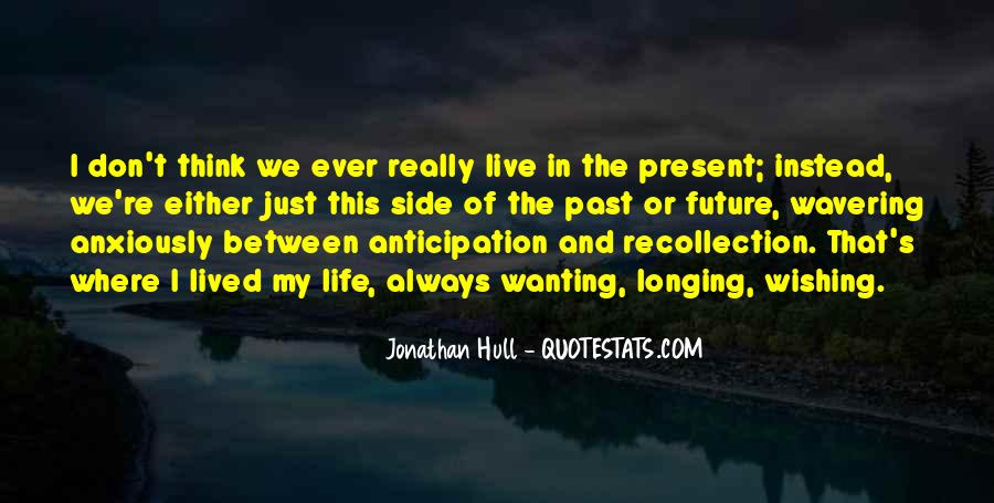 Life Recollection Quotes #898939