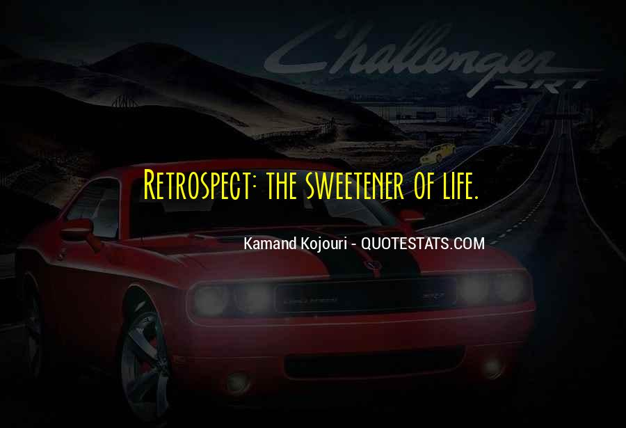 Life Recollection Quotes #951441