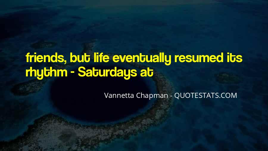 Life Resumed Quotes #999039
