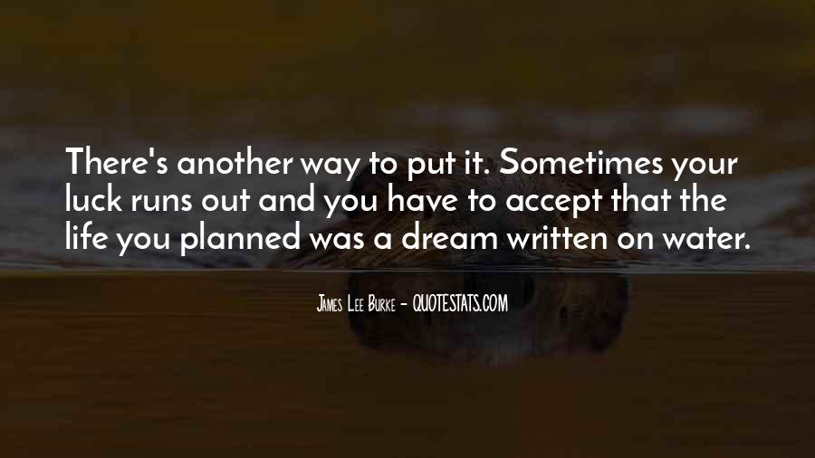 Life Runs Quotes #1063207
