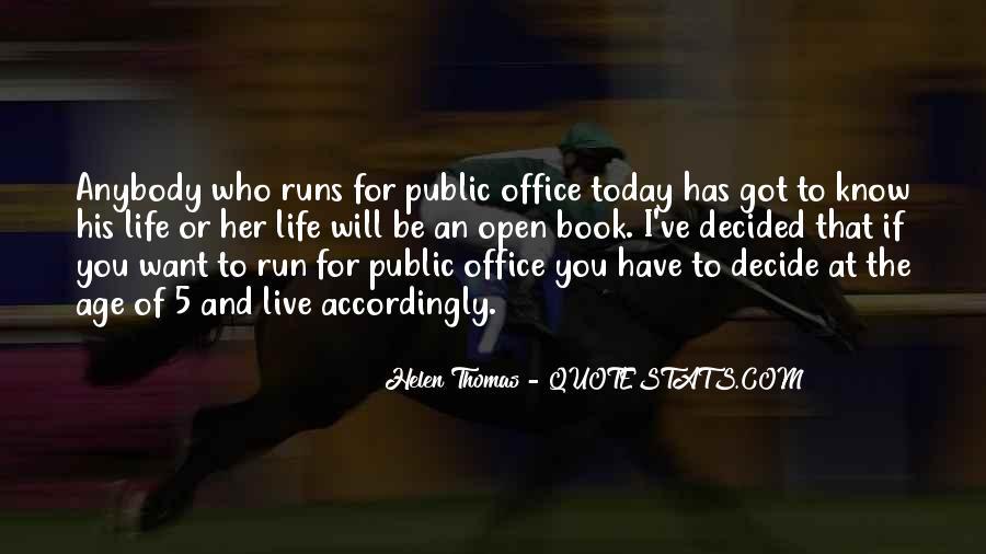 Life Runs Quotes #1183167