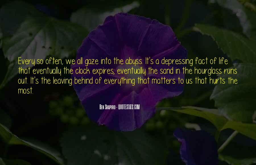 Life Runs Quotes #1189502