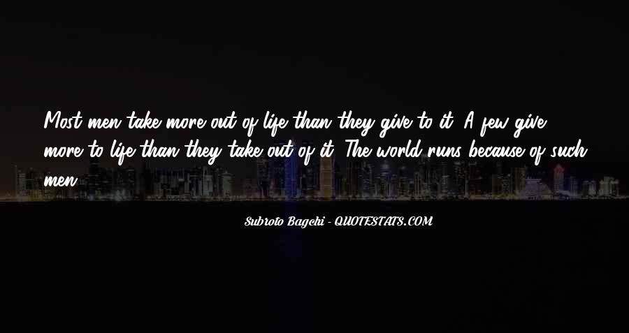 Life Runs Quotes #222765
