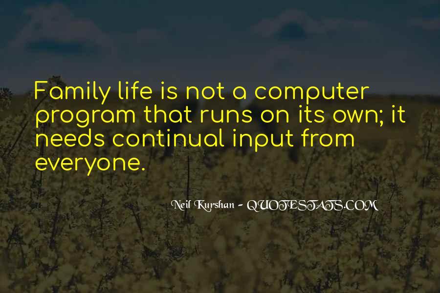 Life Runs Quotes #253194