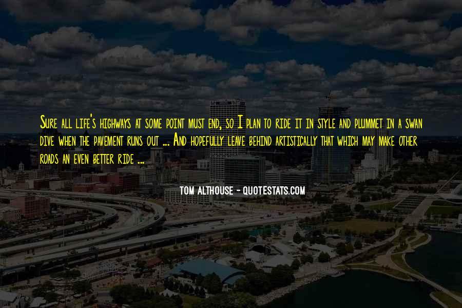 Life Runs Quotes #318746