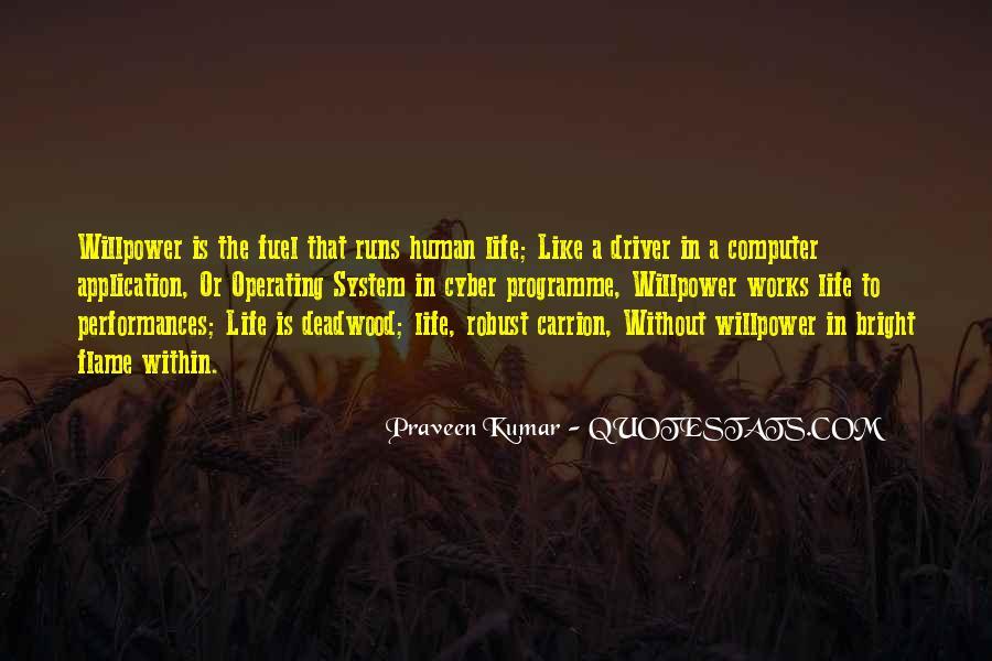 Life Runs Quotes #65276