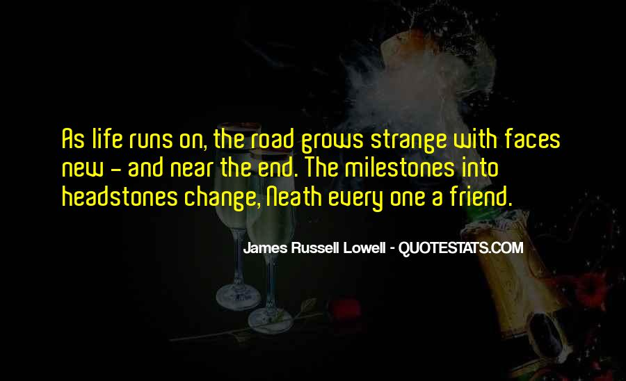 Life Runs Quotes #741124