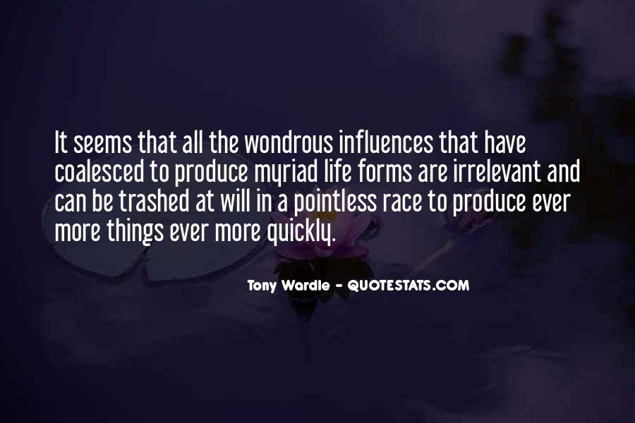 Life Seems Pointless Quotes #1314333