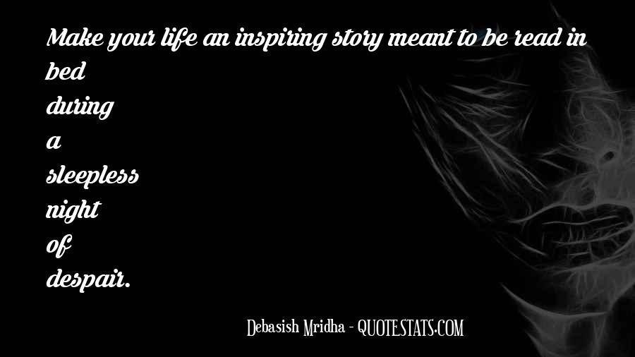Life Sleepless Quotes #1343622