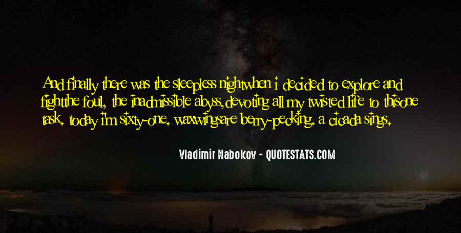 Life Sleepless Quotes #1462379